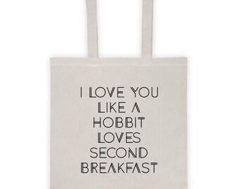Hobbit Love Tote Bag