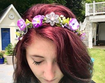 Precious Jewels Flower Crown