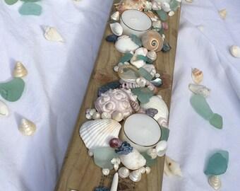 Wedding table tea light holders