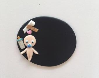 Badge LPN pediatrician, of baby