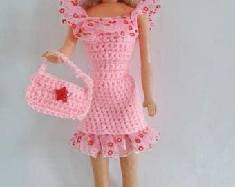 robe barbie et chapeau