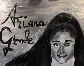 Ariana Grande orginal painting.