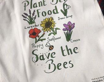 Plant Bee Food Bag