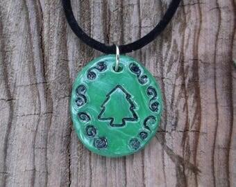 Pine Tree Talisman Necklace