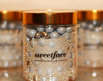Hi-Ho Silver, Away! by Sweetface -  Sprinkle Mix, Cake Decorating, Edible Sprinkles, Cup Cake Sprinkles