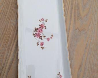 Very nice rectangular porcelain Berry dish