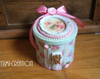 Little angels romantic jewelry box
