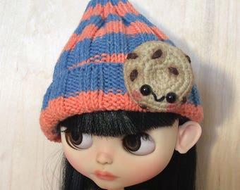 Вязаная шапка для Neo Blythe