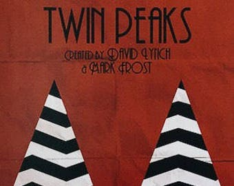 Twin Peaks - Dale Cooper - Laura Palmer - David Lynch  => Use offer code ENVIOGRATISESPANA on checkout!