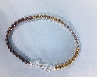 SALE 30% Hematite Bracelet, Hematite  Bracelet   ,gemstone Bracelet ,   ,     March Birthstone bracelet