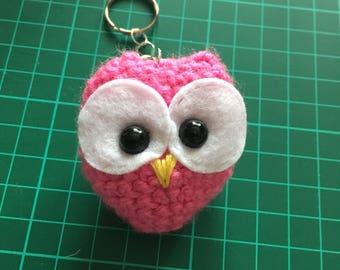 Owl keychain.