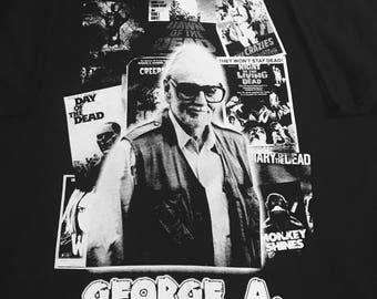 George A. Romero t shirt