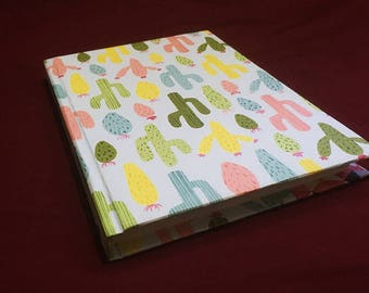 Unlined Cactus Notebook