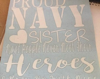Proud (Military) Family Member  Most people never meet their heroes I grew up with mine/ I raised mine/ I married mine