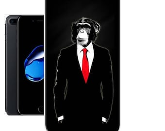 Shell iPhone and Samsung Galaxy man/ape suit tie new in Blister