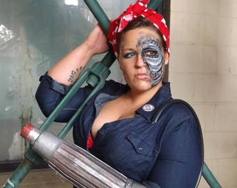 Rosie the Riveted Cosplay Print
