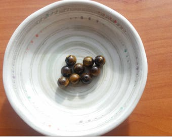 Limited Quantity - High Quality, Natural Tiger's Eye beads