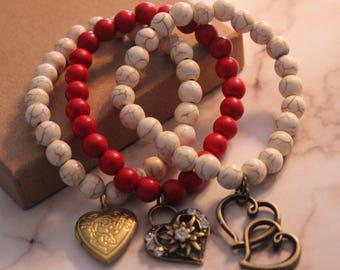 Boho Stacked Bracelet