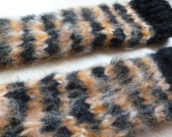 Mohair gloves gloves