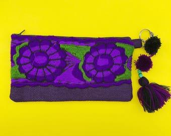 Mexican clutch, Mexican handbag, Mexican bag, Mexican embroidered bag, Mexican woven bag, Boho clutch, Boho bag, Mexican purse, Mexican tote