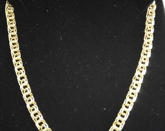 """24 solid 10 K gold chain"""""""