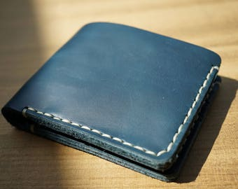 Leather wallet, handmade bifold Wallet, men wallet