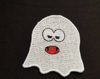 "Embroidery File FSL Halloween Decoration ""Ghost"""