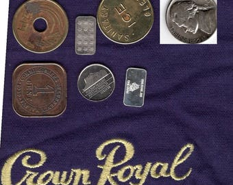 Crown Bag of Mixed Coins & Silver
