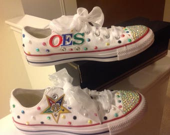Eastern Star Converse bling