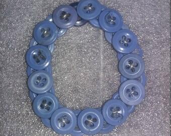 ButtonMe Blue Bracelets