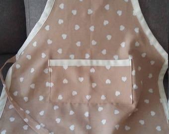 100% cotton, handmade apron!