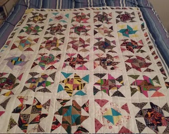 Windmills and Flying Gelse Quilt