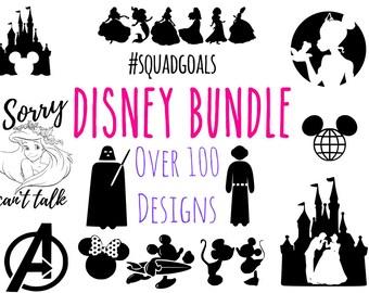 Disney SVG Bundle, disney, ariel, Disney Princess svg, mickey svg, ariel svg, font svg, Star Wars SVG, Disney svg, svg, png, Disney svg