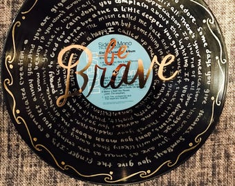Record- Vinyl Art