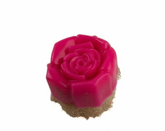 Rose loofah foot scrub 100% organic