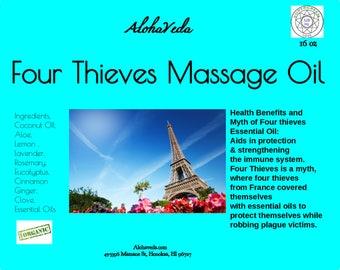 Four Thieves Massage Oil