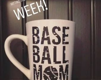Baseball Mom - Coffee Mug