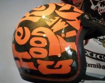 Helmet Bell Rt Retro Original 70's Vintage Cafe Racer