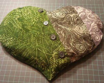 Batik Warmie Heart