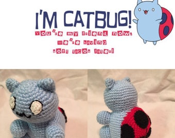 Catbug crochet doll