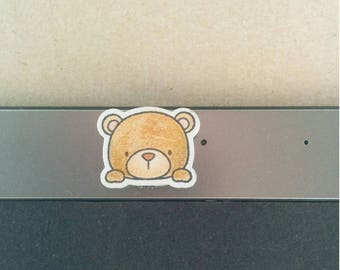 Cute Bear webcam cover !Custom!