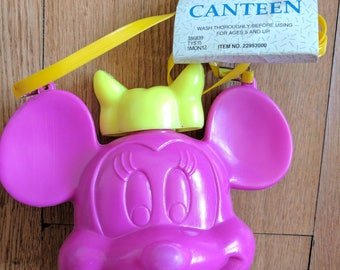 80s  Minnie Mouse Canteen