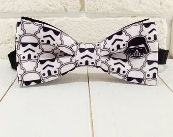 Bow tie Darth Vader black and white