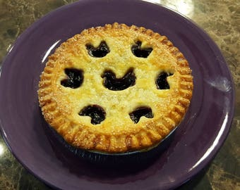 Homestyle Blueberry Pie