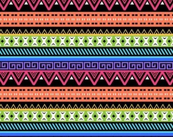 Heat Transfer Tribal Pattern Vinyl Paper Rainbow Aztec