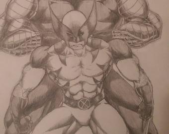 Wolverine & Colossus (Marvel comics)