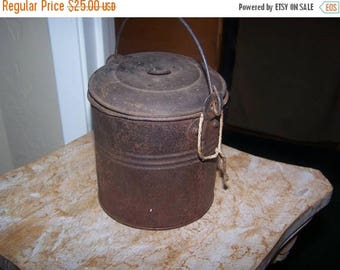 ON SALE Lunch Pail, 1900s, Comco