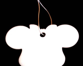 baby gift, baby garland, stroller decor, stroller chain, perspex toys, minnie mouse