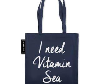 Vitamin Sea- Driftwood Tote Bag