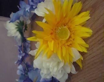 Wedding, festival, summer flower crowns